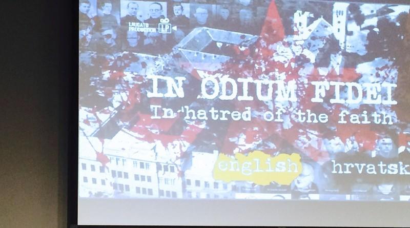 Film o pobijenim hercegovačkim franjevcima prikazan na Kočerinu